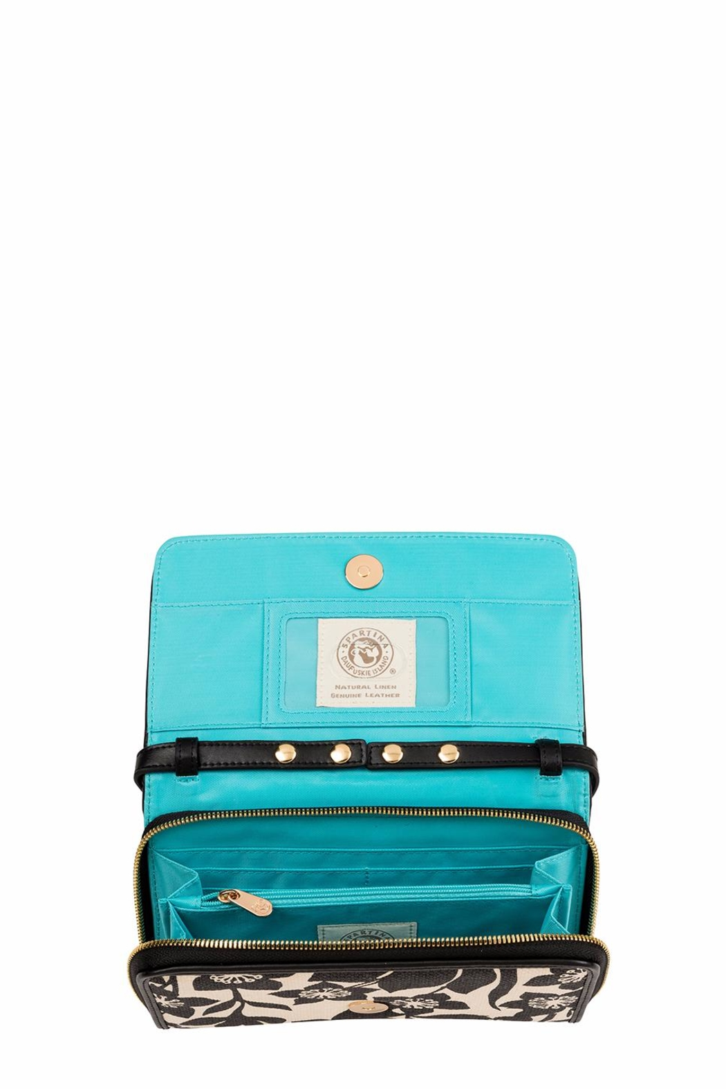Spartina 449 Privateer Wallet Crossbody - Front Full Image