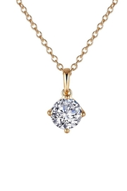 Spartina 449 Round Solitaire Necklace - Product Mini Image