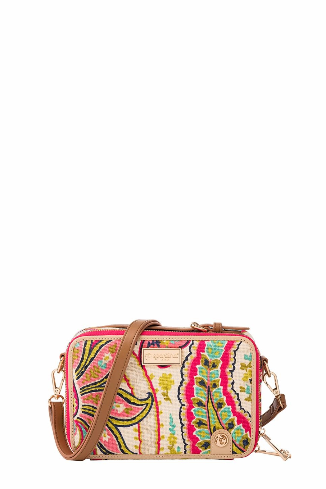 Spartina 449 Salt Meadow Crossbody - Front Cropped Image
