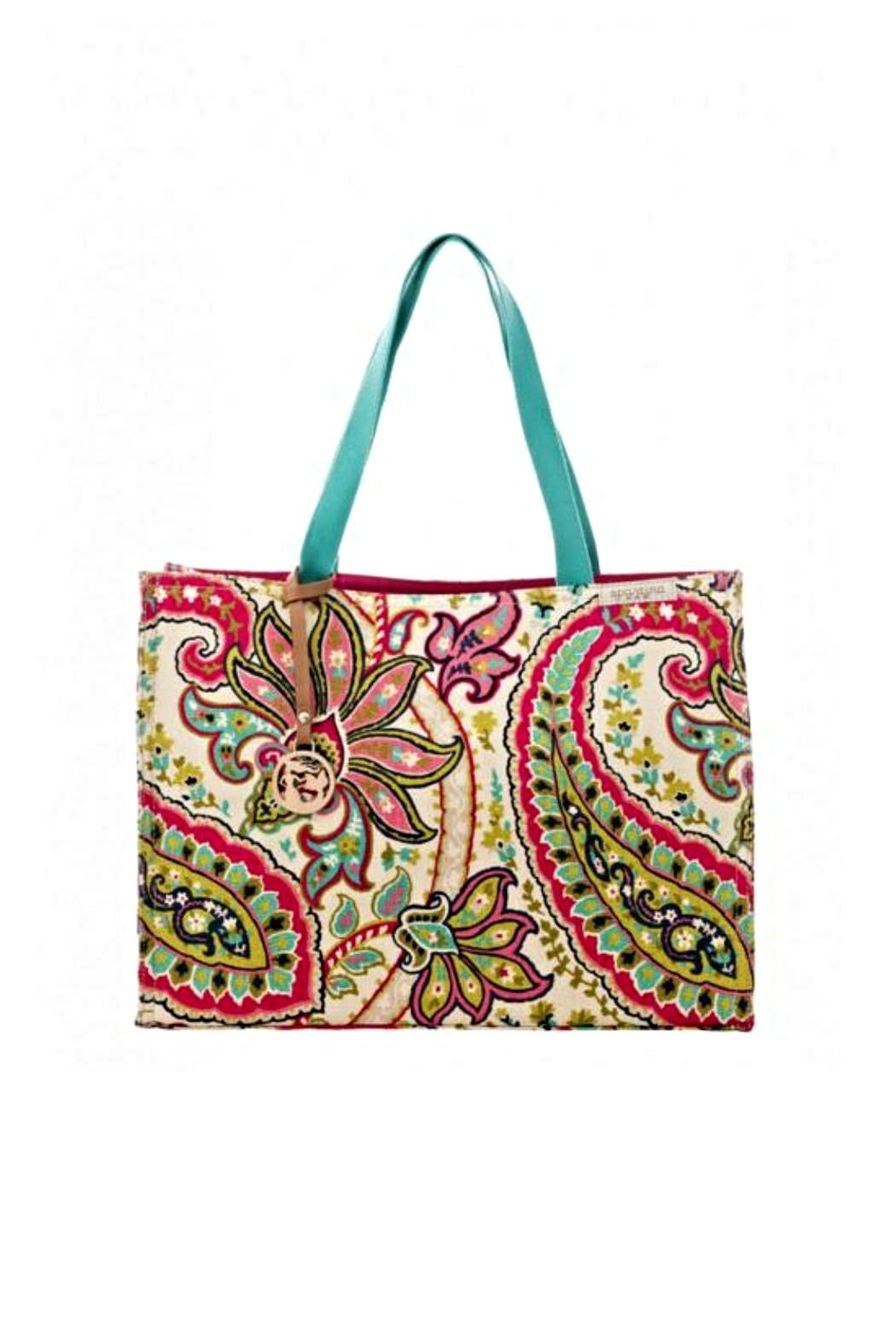 Spartina 449 Salt Meadows Tote - Front Cropped Image