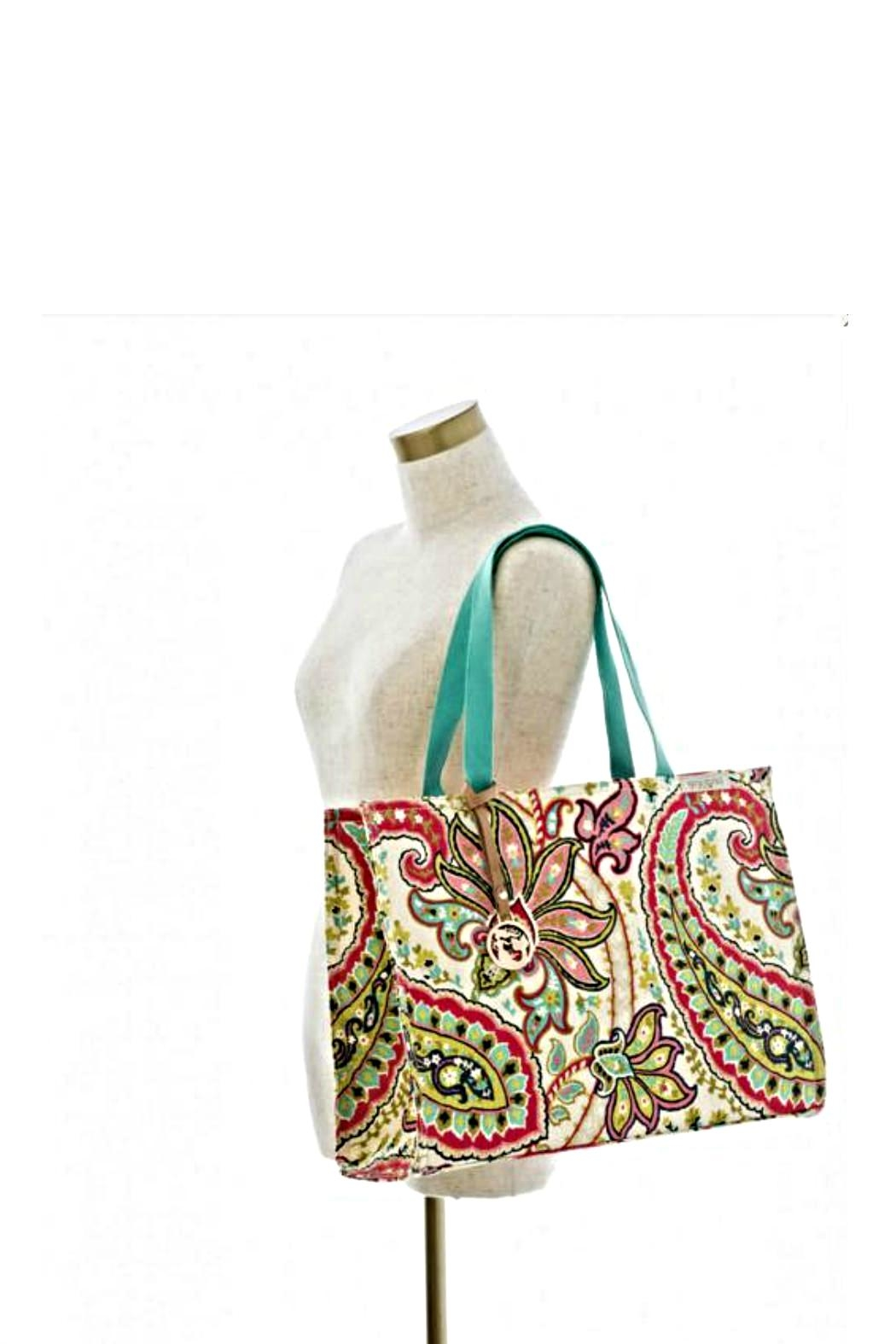 Spartina 449 Salt Meadows Tote - Side Cropped Image