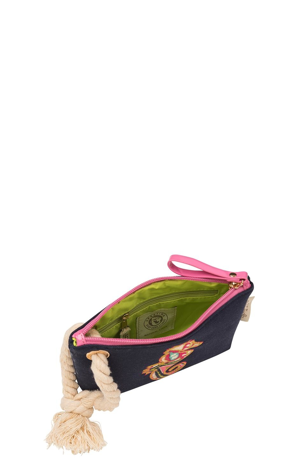 Spartina 449 Seahorse Rope Wristlet - Front Full Image