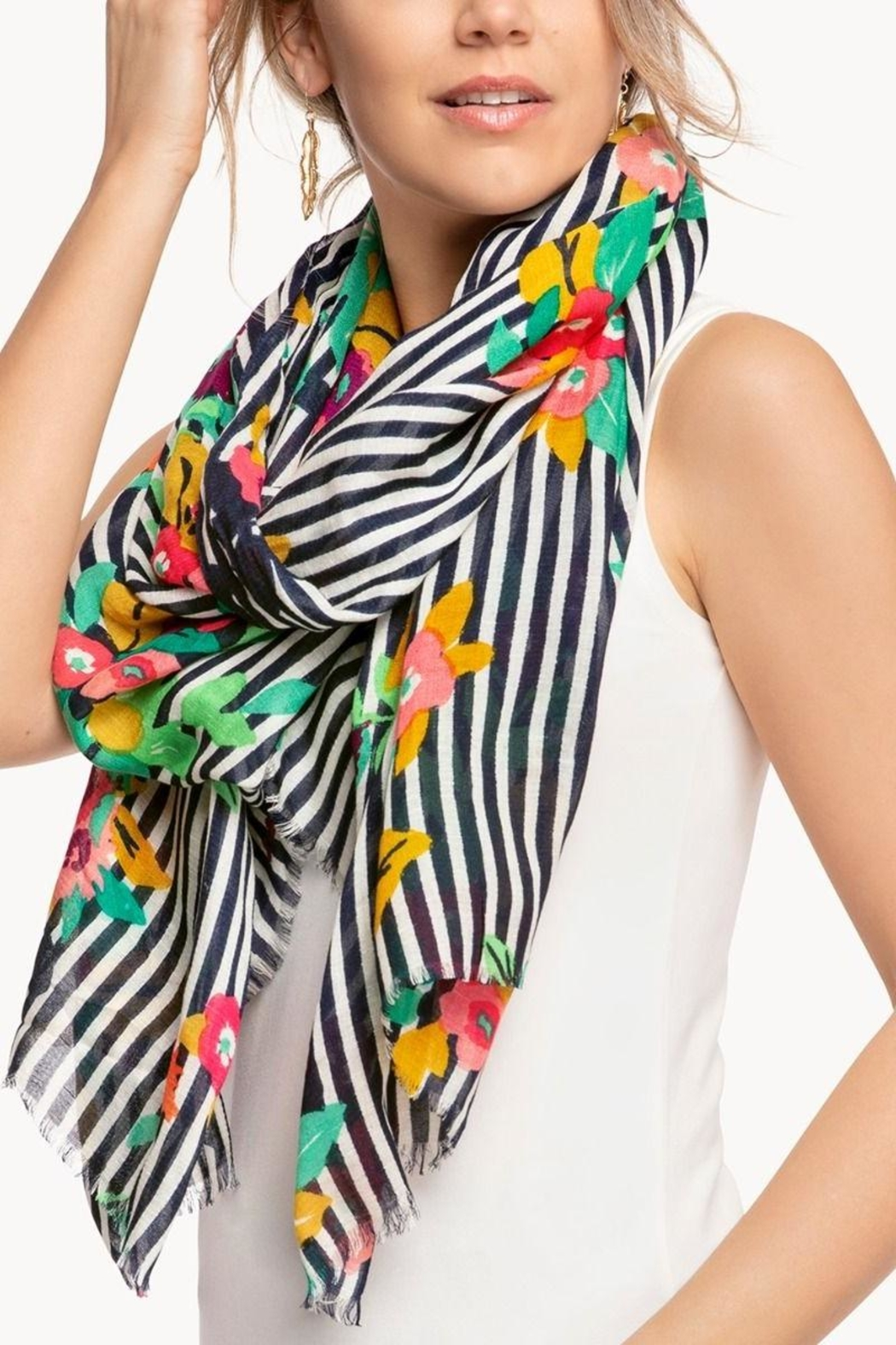 Spartina 449 Shelter Cove Scarf - Front Full Image