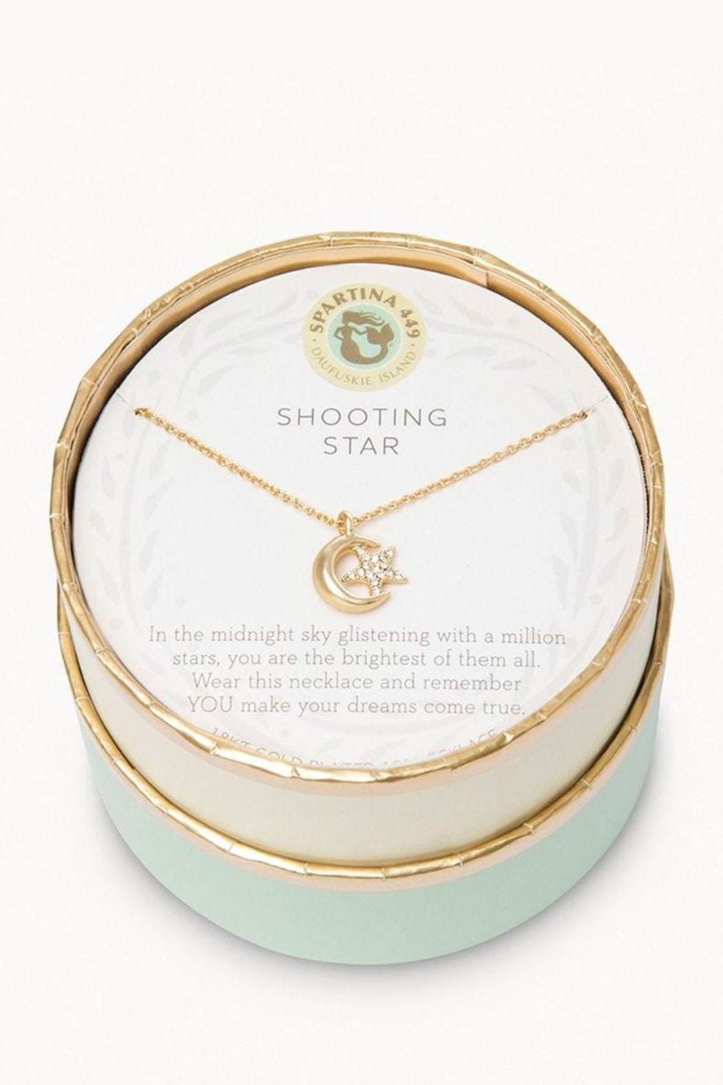 Spartina 449 Shooting Star Necklace - Front Full Image