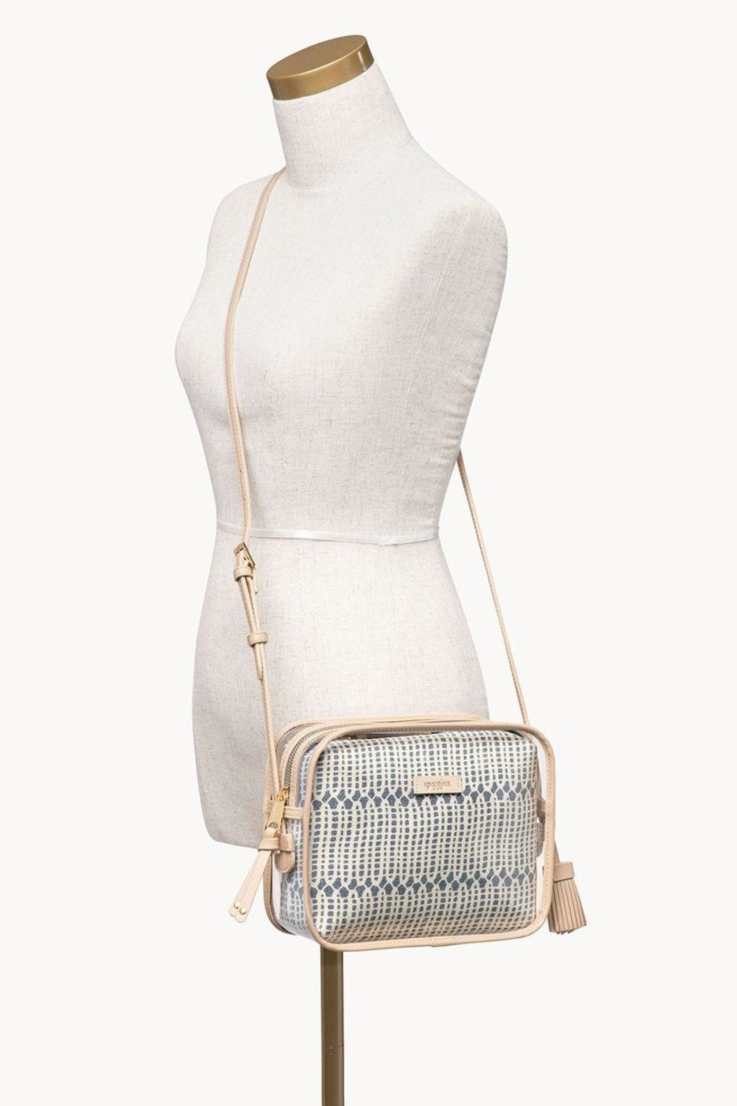 Spartina 449 Songbird Clear Crossbody - Back Cropped Image