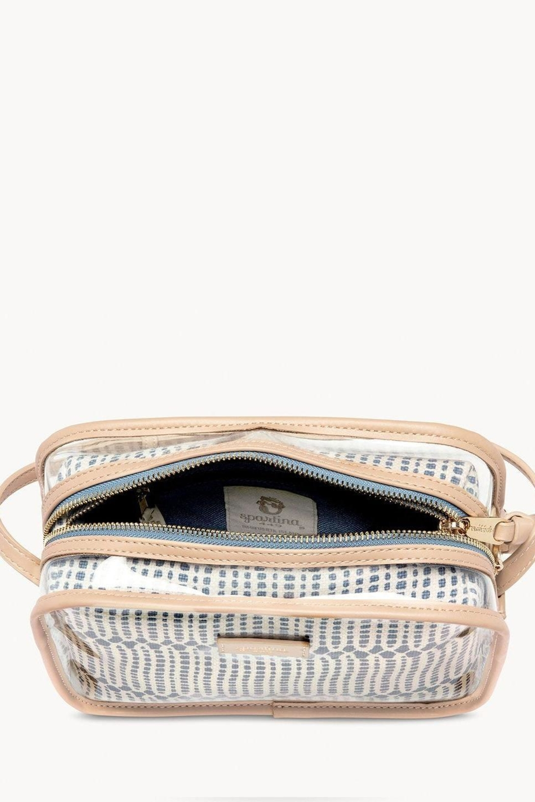Spartina 449 Songbird Clear Crossbody - Front Full Image