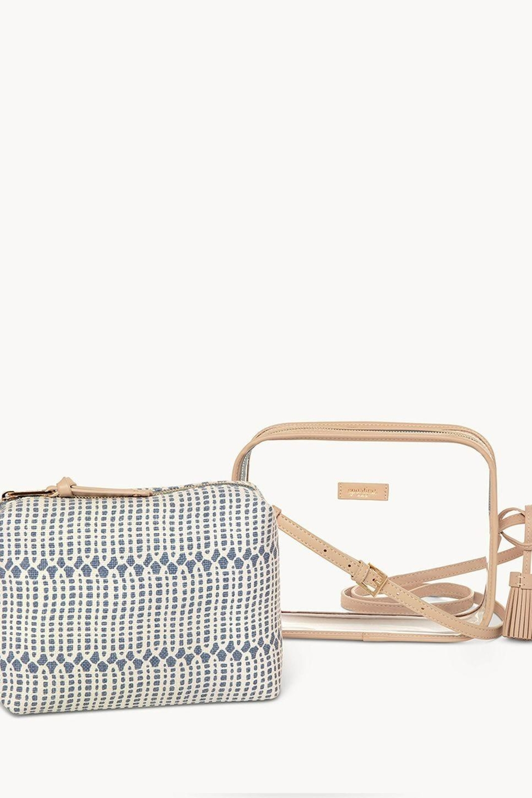 Spartina 449 Songbird Clear Crossbody - Side Cropped Image