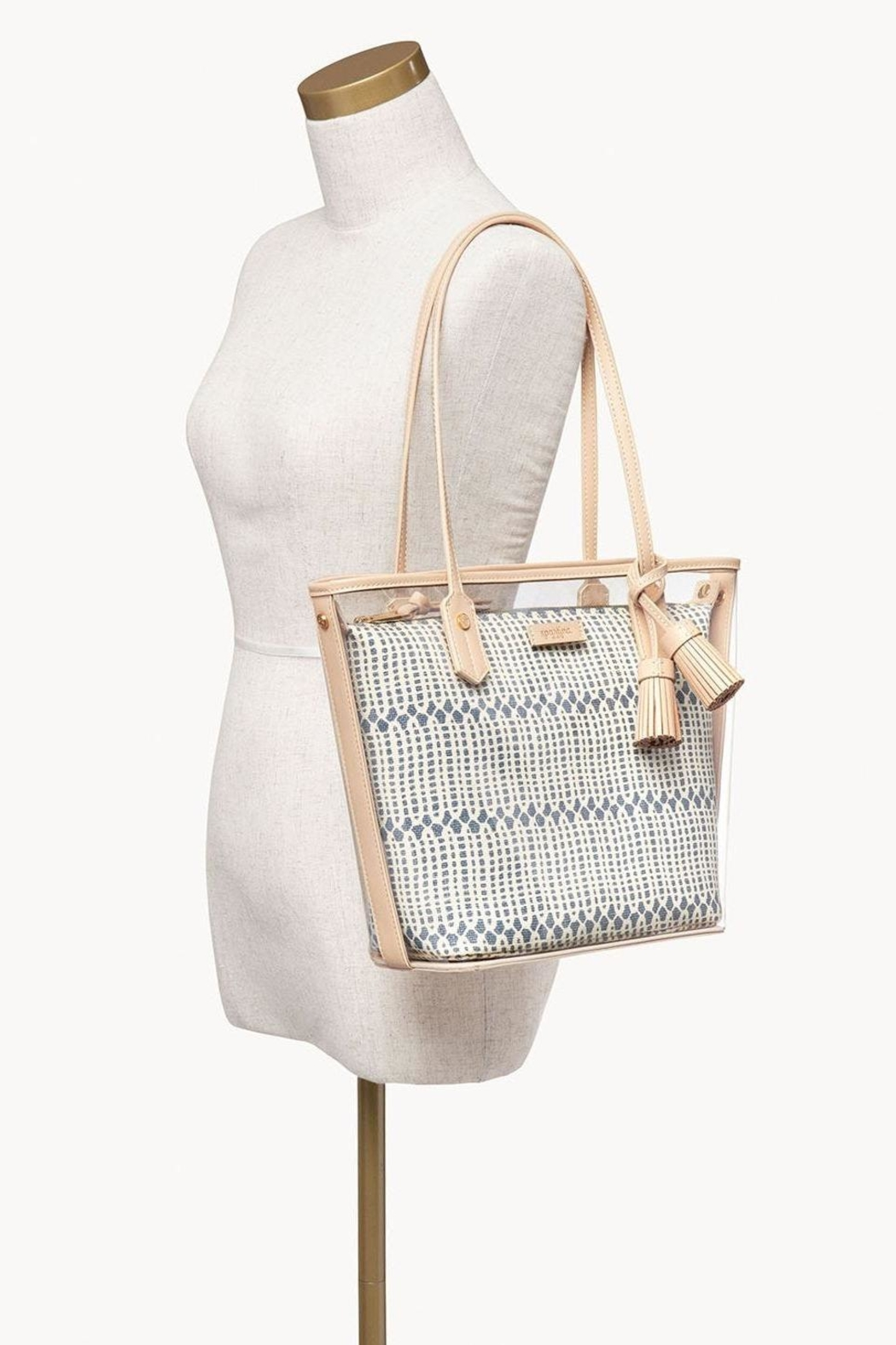 Spartina 449 Songbird Clear Tote - Back Cropped Image
