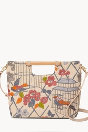 Spartina 449 Songbird Embroidered Tote - Product Mini Image
