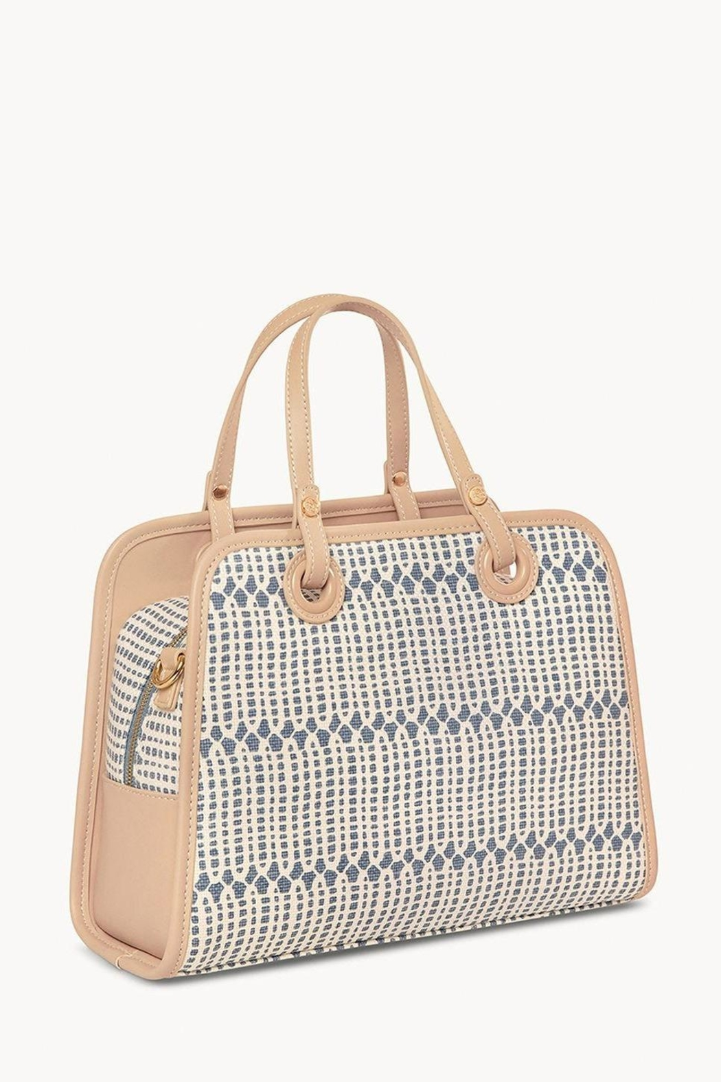 Spartina 449 Songbird Julia Satchel - Side Cropped Image