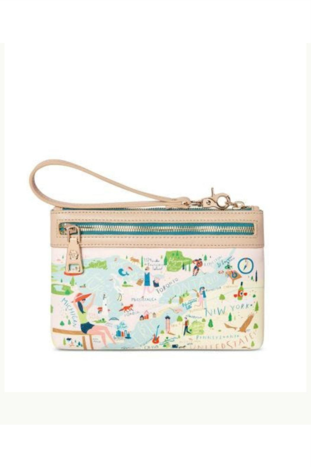 Spartina 449 Great Lakes Wristlet - Front Full Image