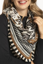 Spartina 449 West Bluff Floral Square Scarf - Side cropped