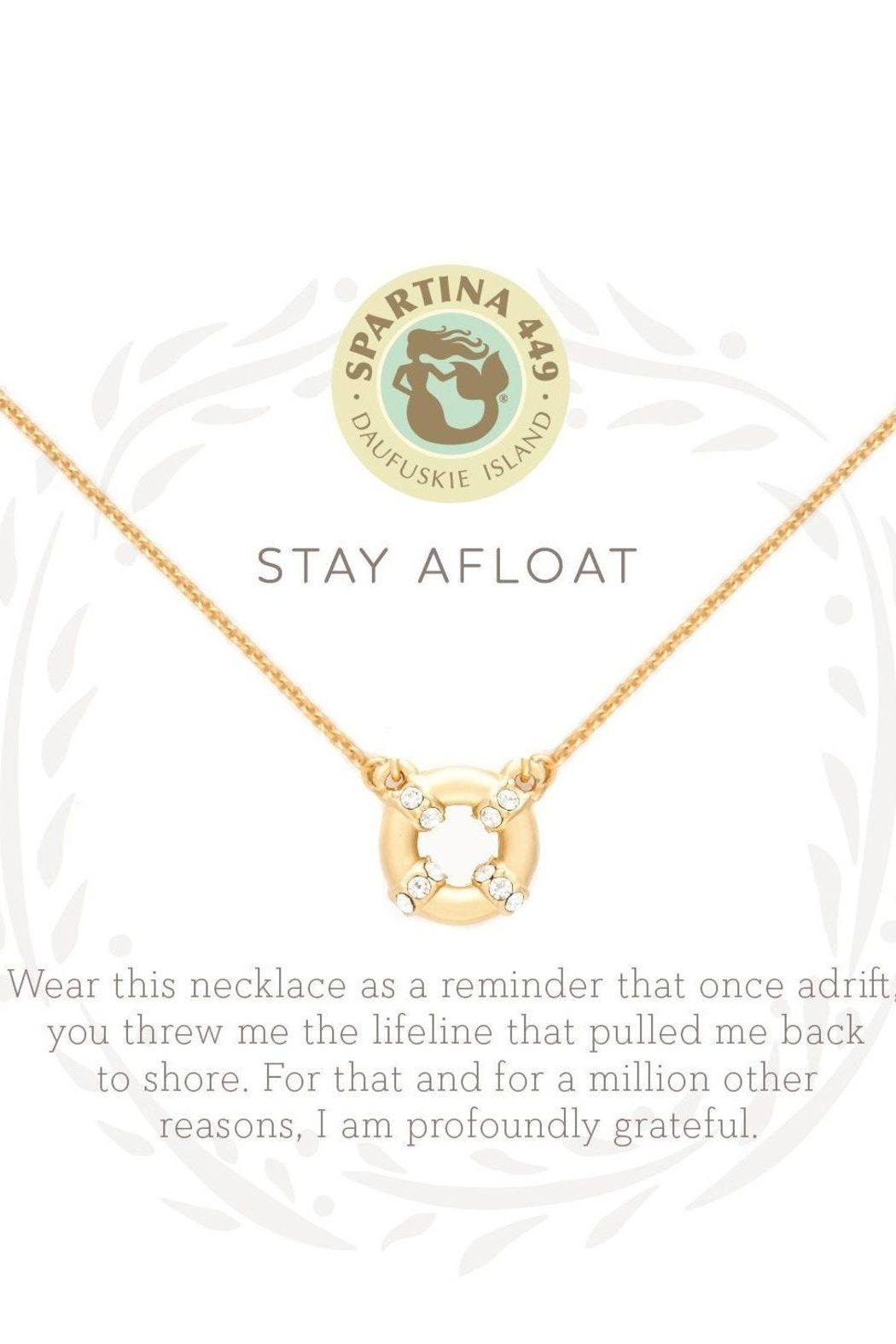 Spartina 449 Stay Afloat Necklace - Front Full Image