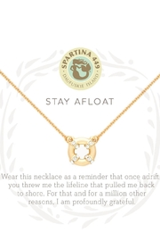 Spartina 449 Stay Afloat Necklace - Front full body