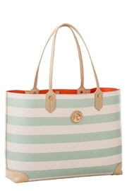Spartina 449 Striped Tote Bag - Front full body
