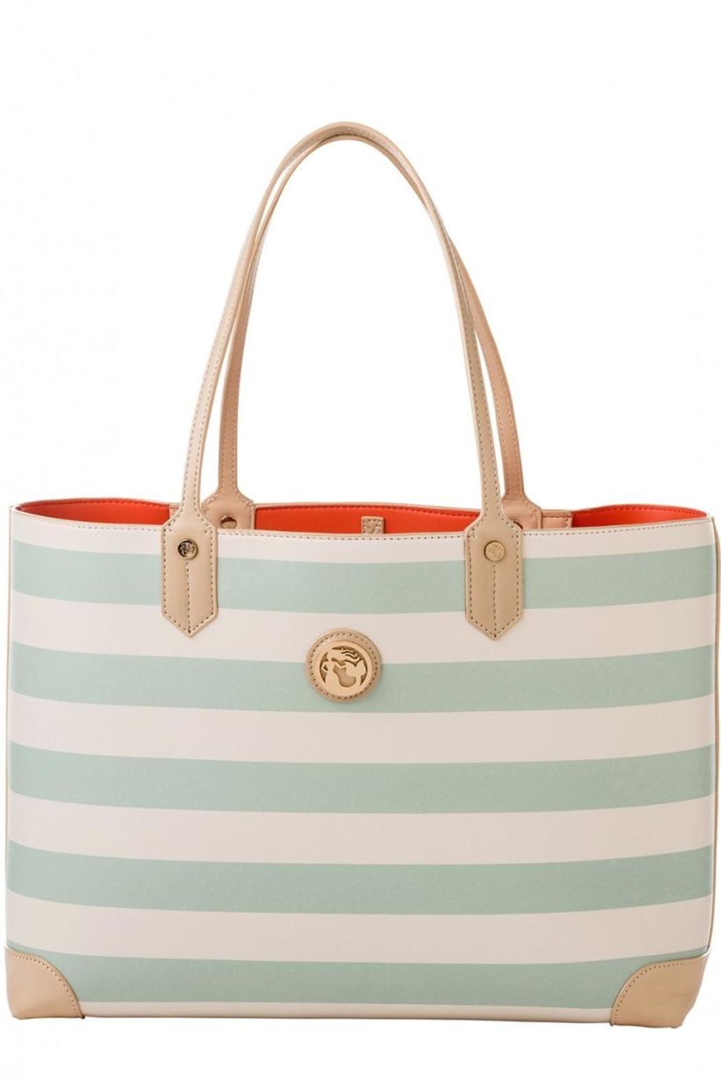 Spartina 449 Striped Tote Bag - Front Cropped Image