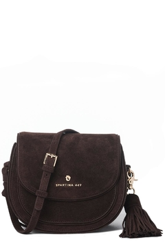 Shoptiques Product: Suede Saddle Crossbody