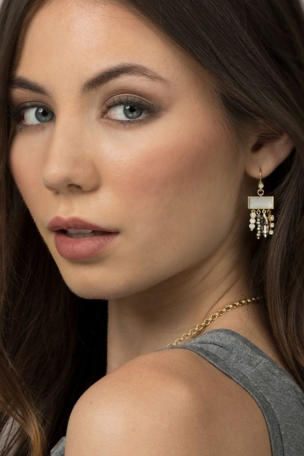 Spartina 449 Sugar Sweet Earrings - Front Full Image