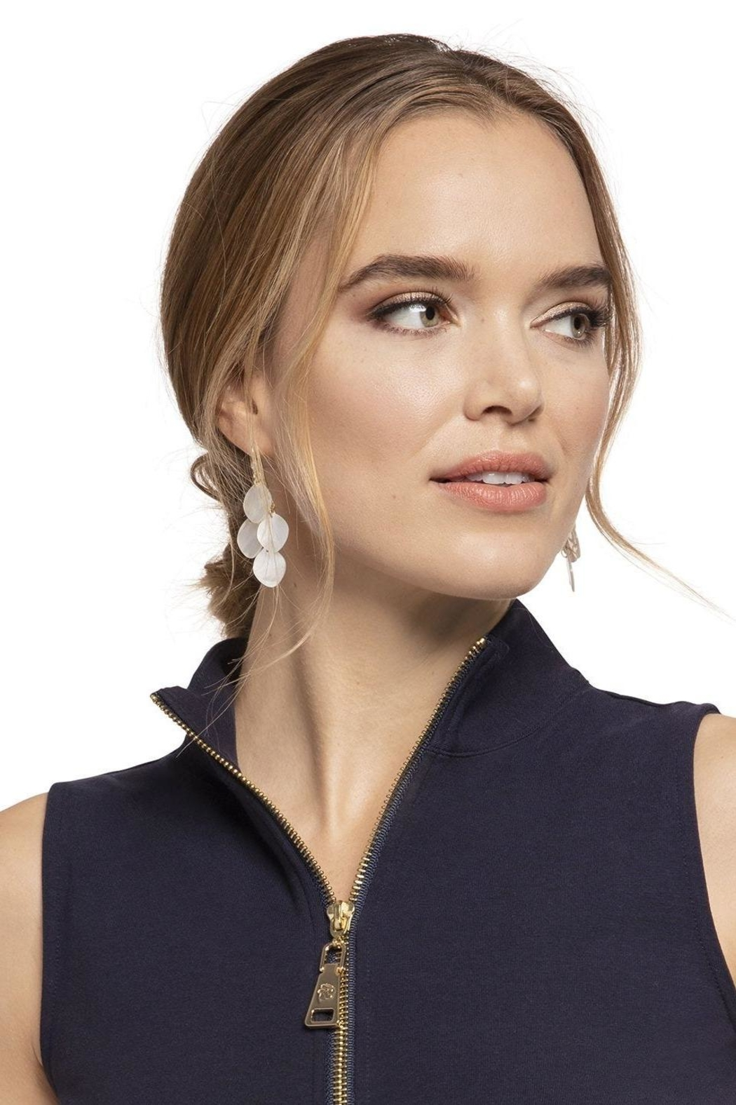 Spartina 449 Sweetspire Chandelier Earrings - Back Cropped Image