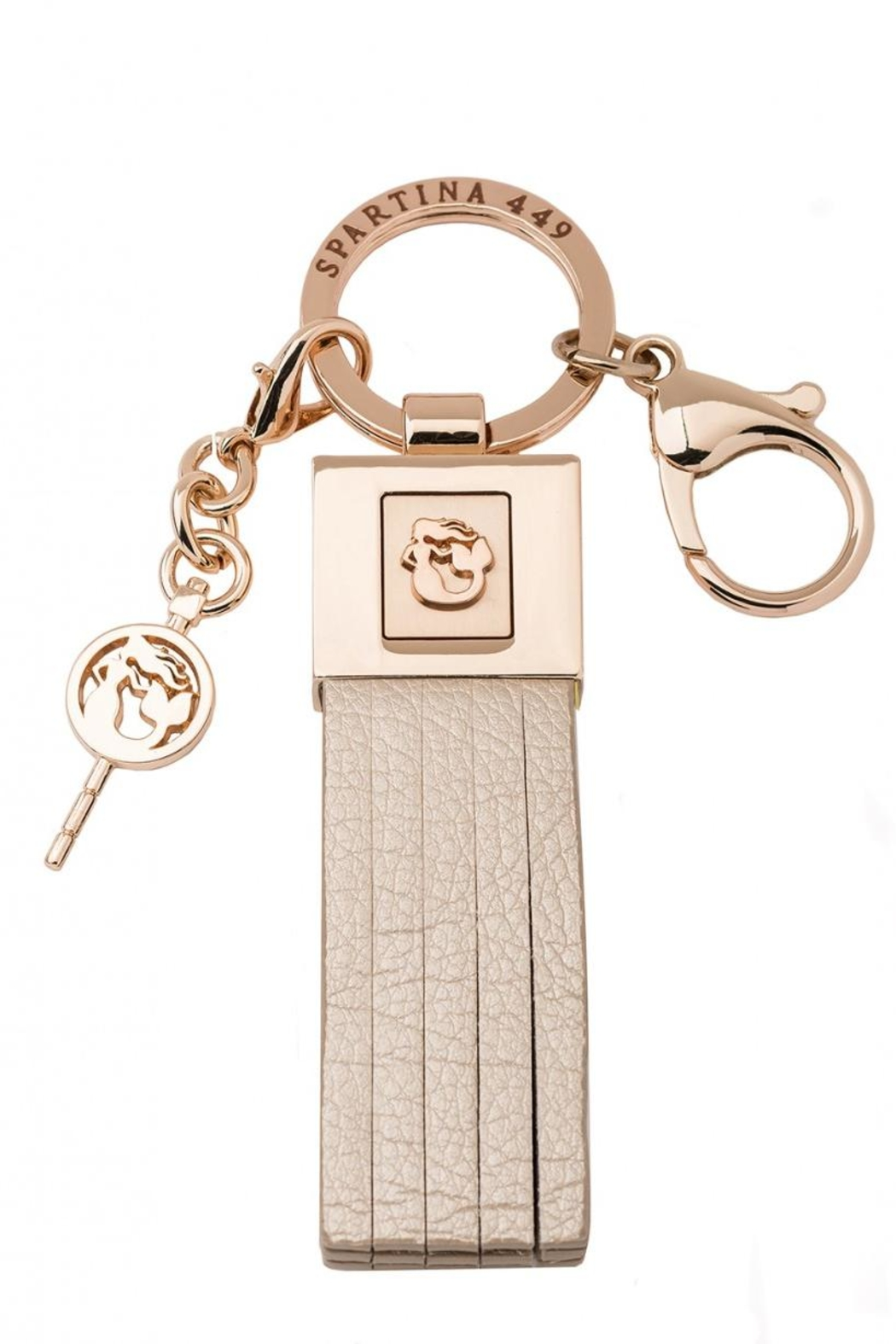 Spartina 449 Tassel Keychain - Front Cropped Image