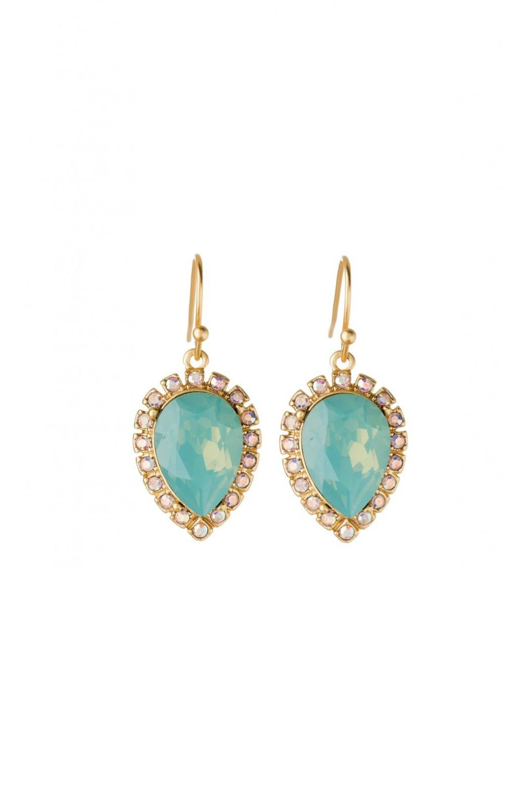 Spartina 449 Teardrop Drop Earrings - Front Cropped Image