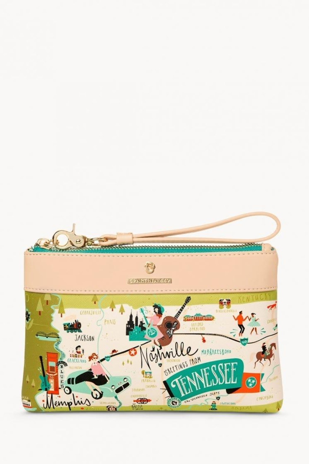 Spartina 449 Tennessee Scout Wristlet - Main Image