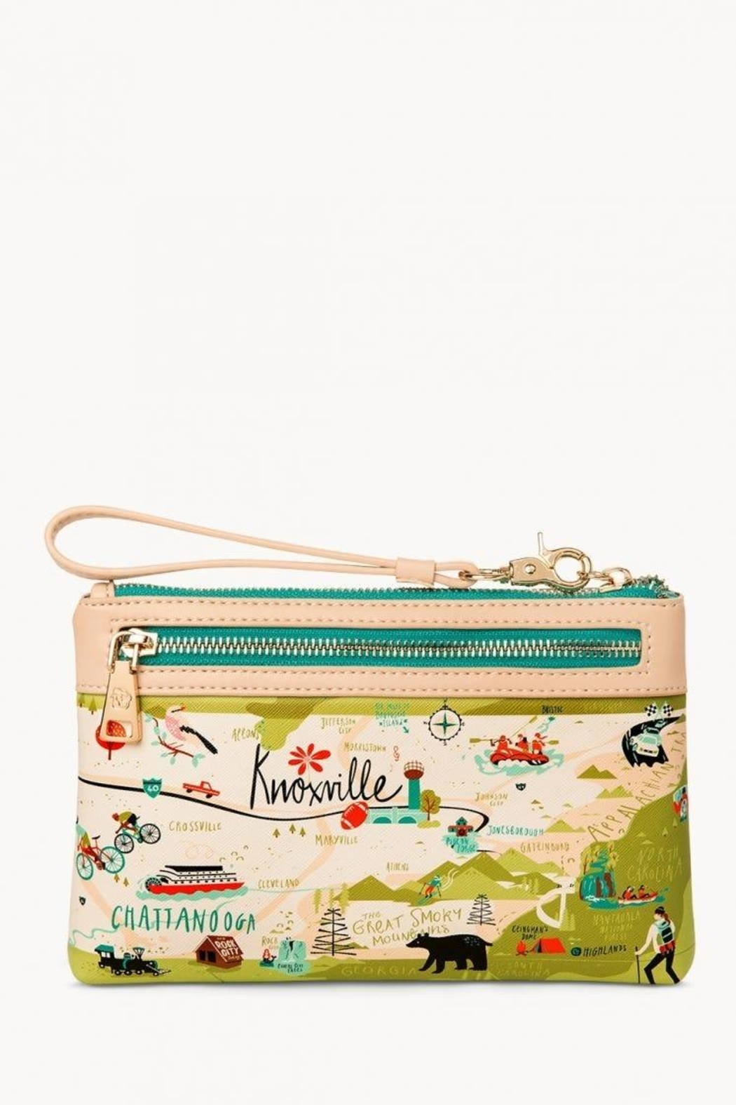 Spartina 449 Tennessee Scout Wristlet - Front Full Image