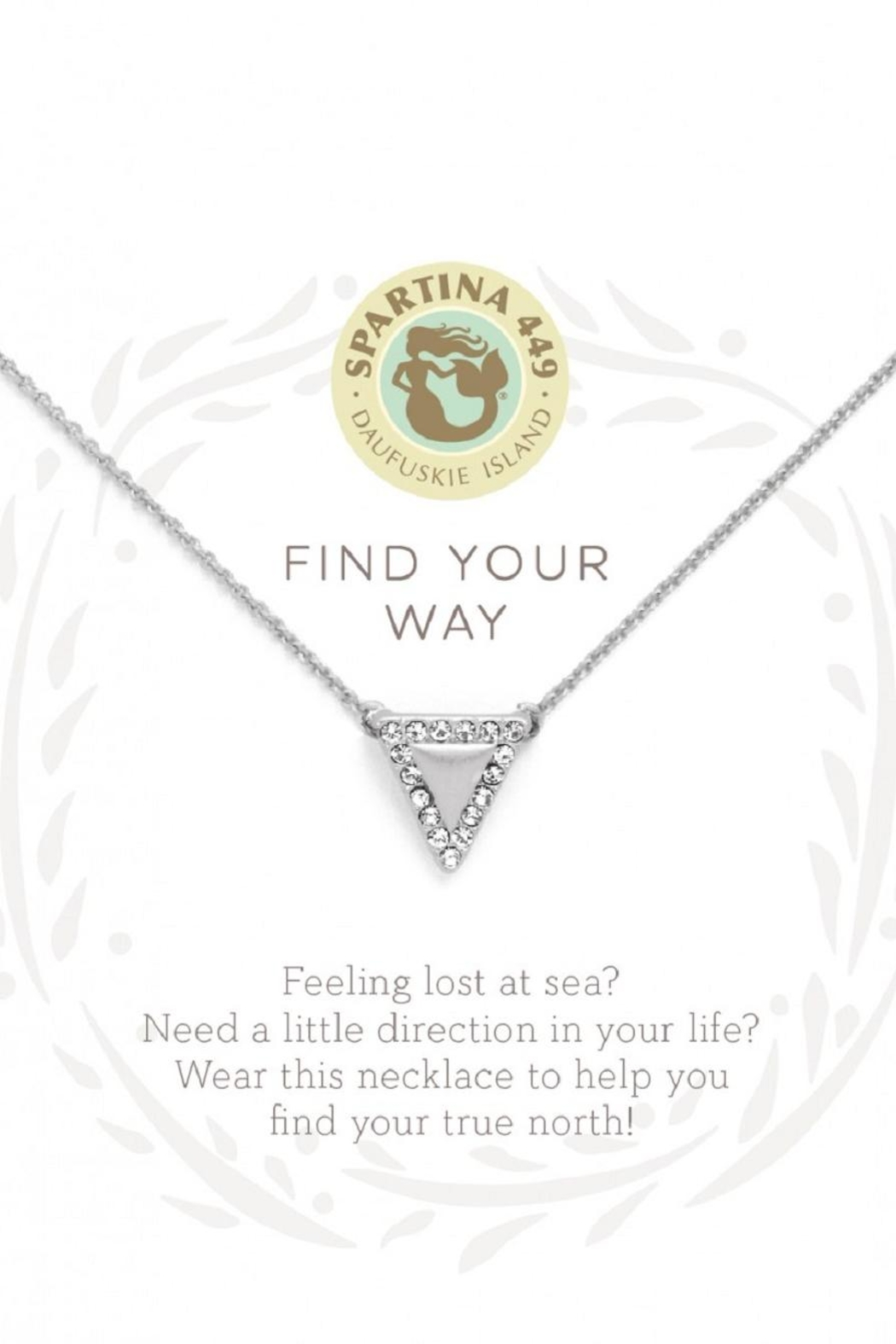 Spartina 449 Triangle Necklace - Main Image