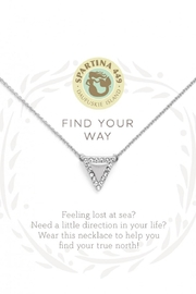 Spartina 449 Triangle Necklace - Product Mini Image