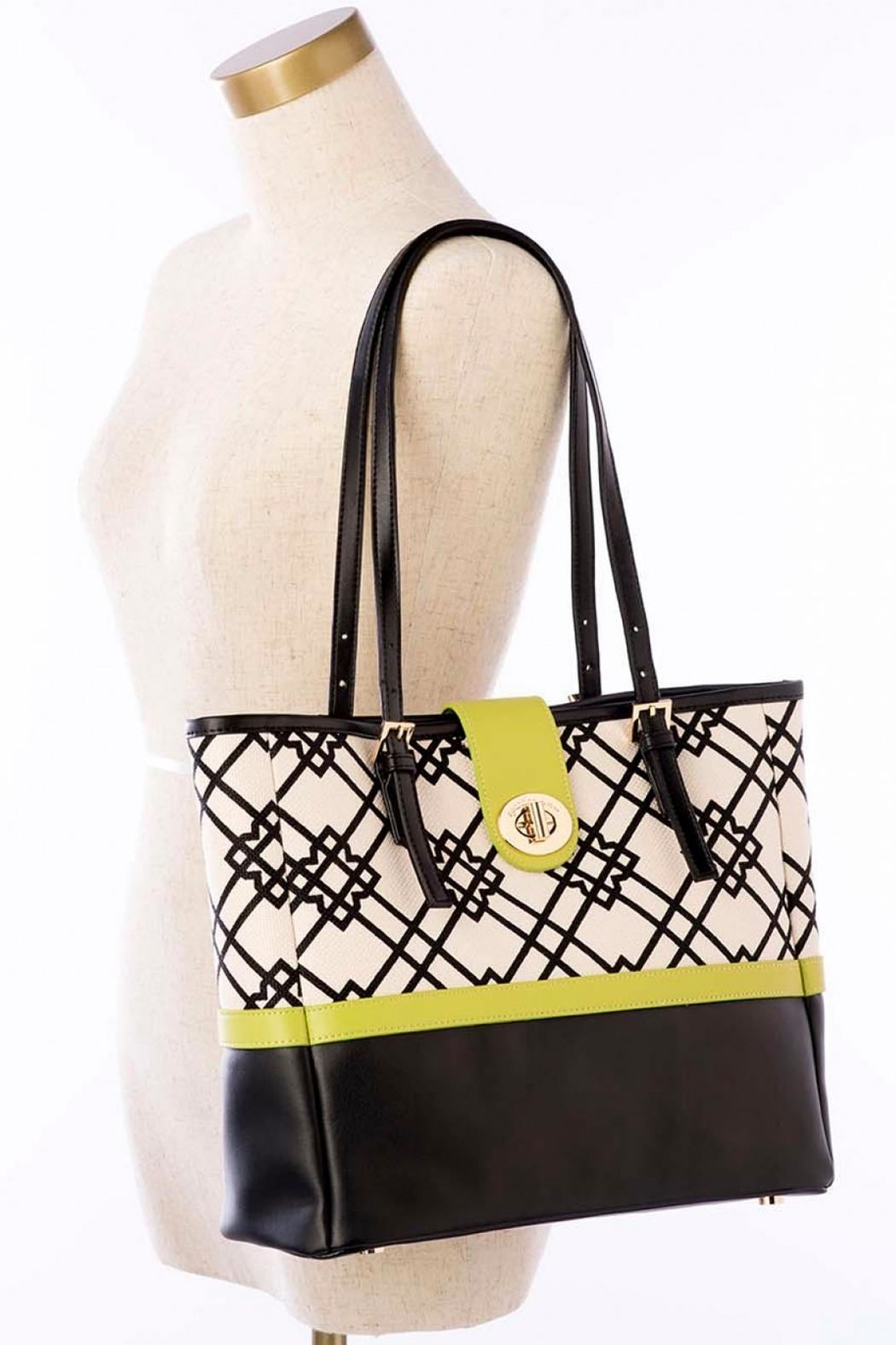Spartina 449 Turn-Key Classic Tote - Back Cropped Image