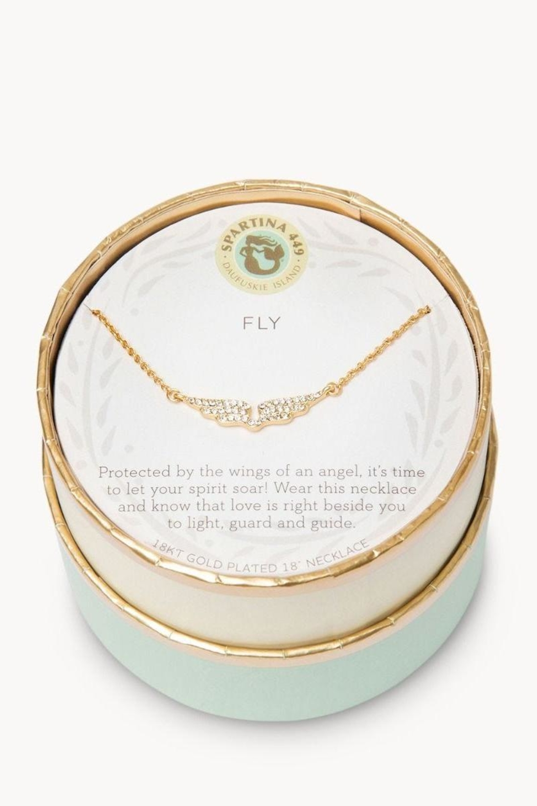 Spartina 449 Fly Necklace - Front Full Image