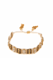 Spartina 449 Woven Beaded Bracelet - Front cropped