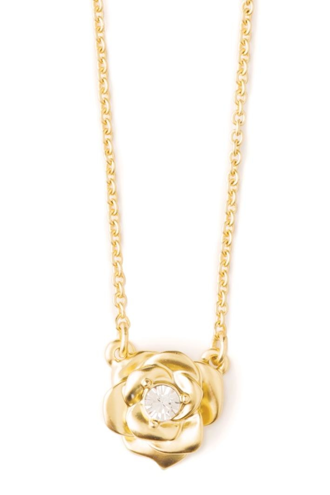 Spartina 449 Xoxo Rose Necklace - Front Full Image