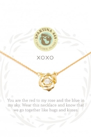 Spartina 449 Xoxo Rose Necklace - Front cropped