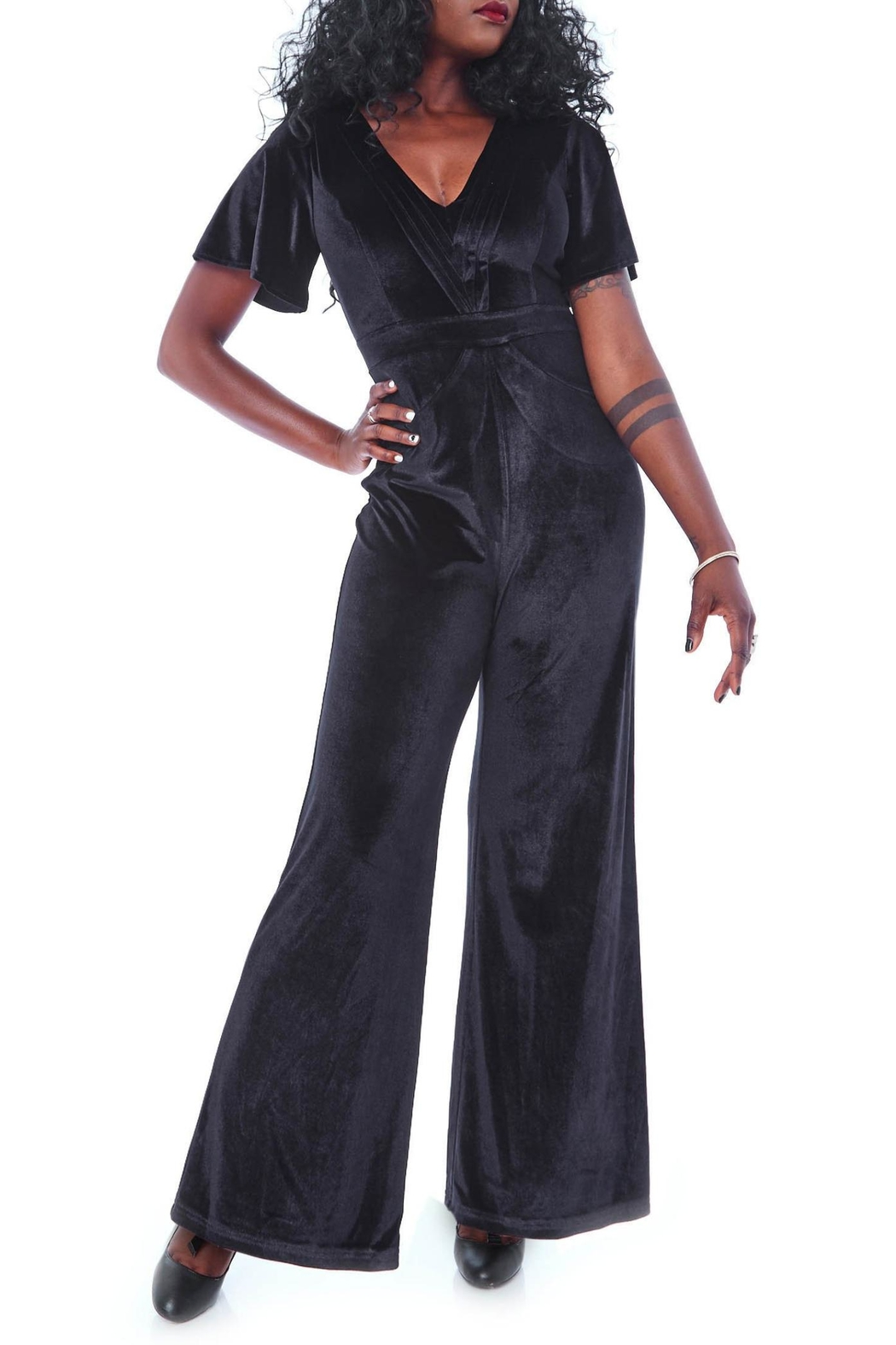 48ab585caf Rebel Love Clothing Speakeasy Jumpsuit from Omaha by Daisy Jones ...