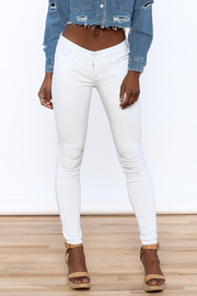 Special A White Skinny Jeans - Product Mini Image