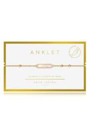 Katie Loxton Special Anklet Gold - Product Mini Image