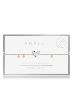Katie Loxton Special Anklet Silver - Alternate List Image