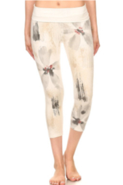 T Party Special Dyed Yoga Capris - Product Mini Image