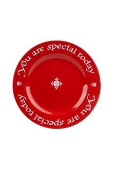 Shoptiques Product: Special Red Plate