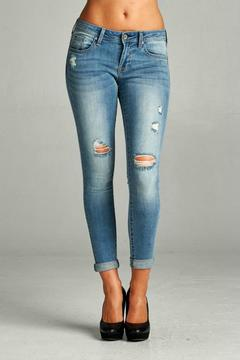 Special A Distressed Ankle Skinny - Product List Image