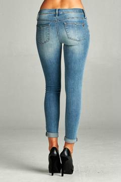 Special A Distressed Ankle Skinny - Alternate List Image
