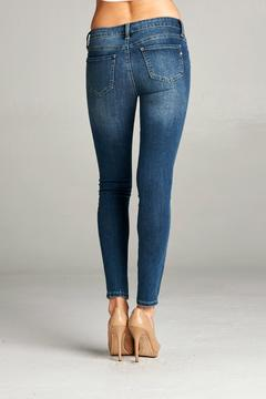 Special A Distressed Ankle Skinny Jeans - Alternate List Image