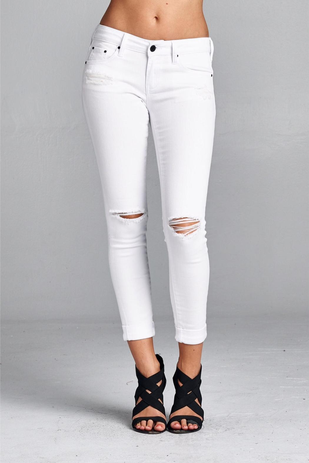 Special A Distressed Skinny Jeans from Las Vegas by Modena Fashion ...