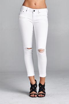 Shoptiques Product: Distressed Skinny Jeans
