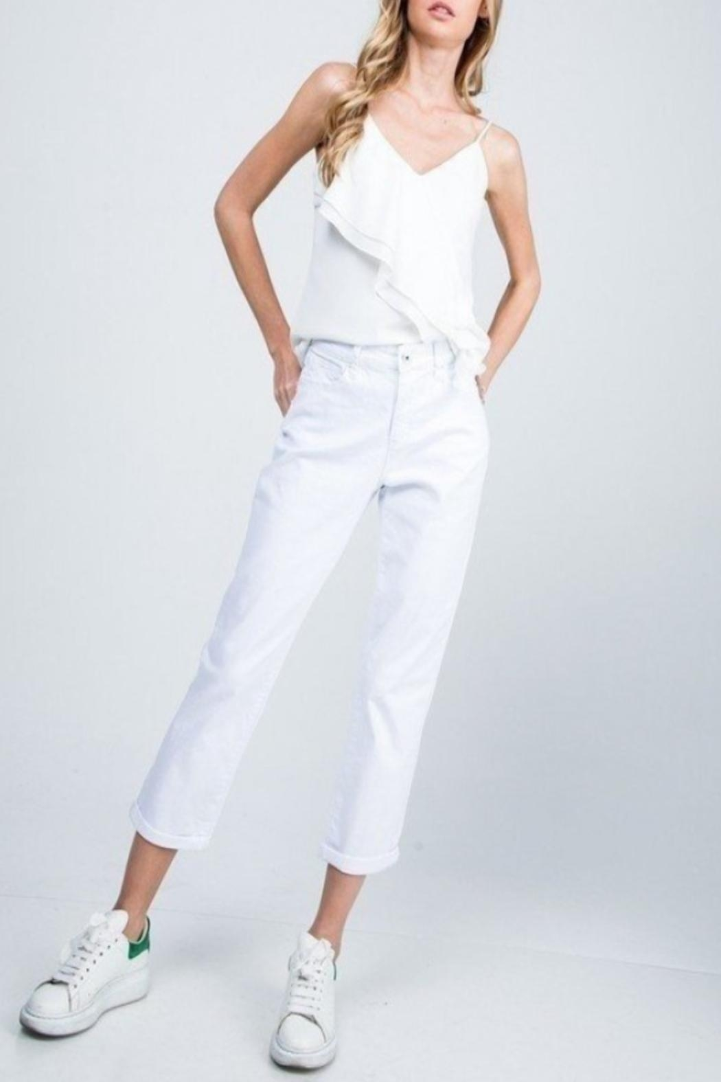 Special A High-Rise Boyfriend Jeans - Side Cropped Image
