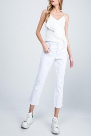 Special A High-Rise Boyfriend Jeans - Front cropped