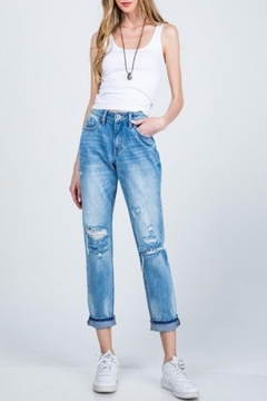 Special A Mid-Rise Relaxed-Skinny Jean - Product List Image