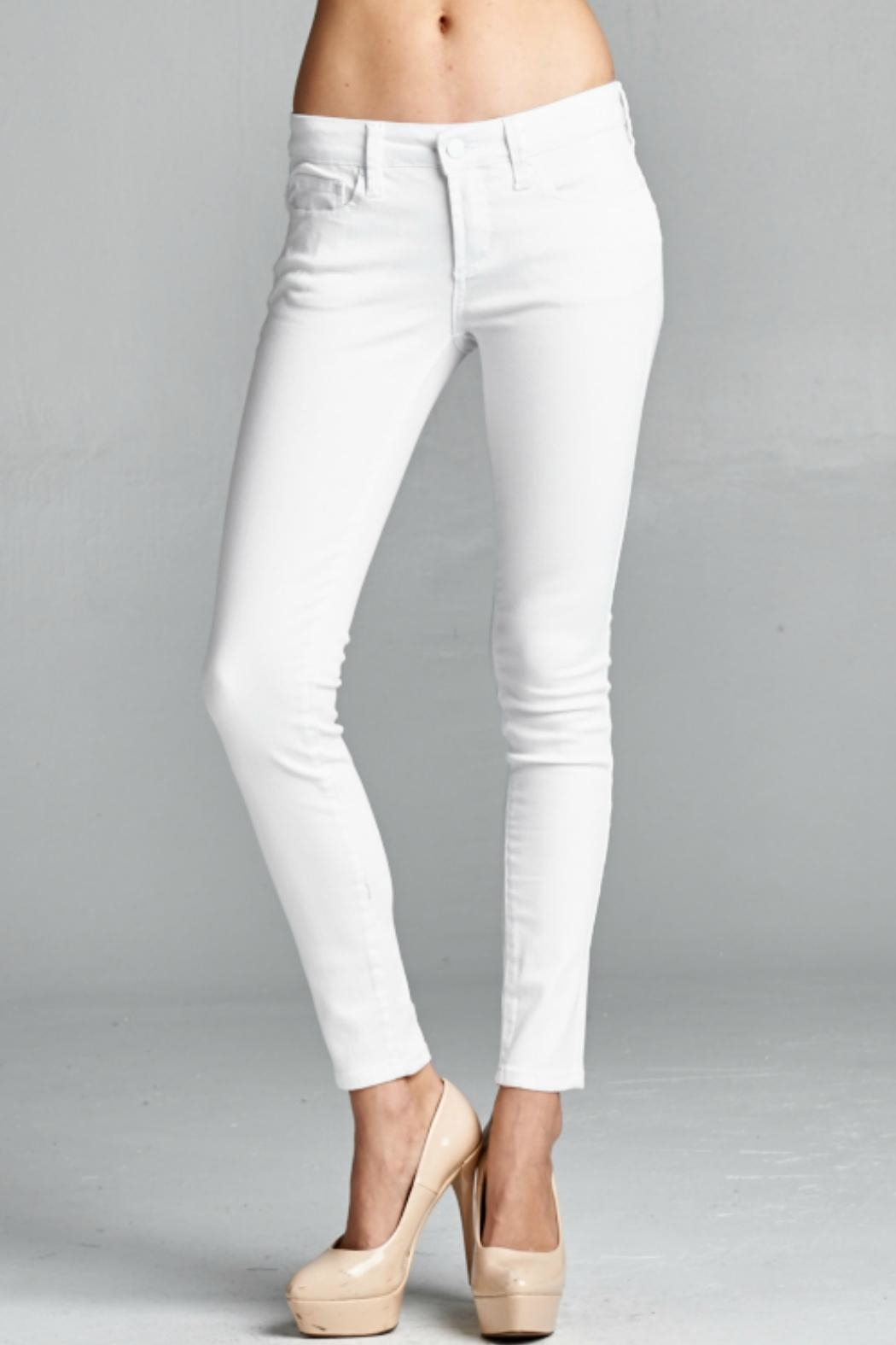 Special A White Skinny Denim Jeans - Main Image