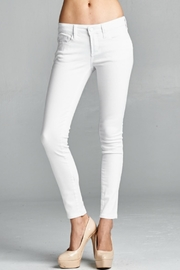 Special A White Skinny Denim Jeans - Front cropped